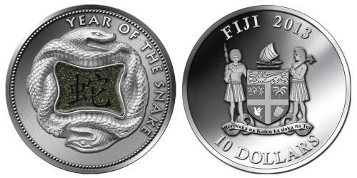2013 Lunar Snake Coin Releases: Fiji, Niue & Korea ~ Silver