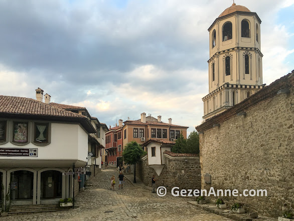 Plovdiv old town, Filibe eski şehir, Bulgaristan