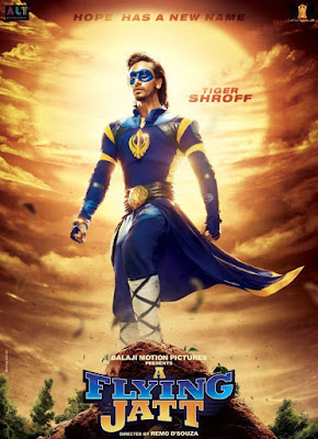 Poster Of Hindi Movie A Flying Jatt 2016 Full HD Movie Free Download Watch Online