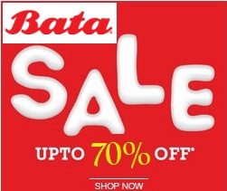 Bata End of Season Sale: Upto 70% Off on Men's / Women's Footwear & Handbags