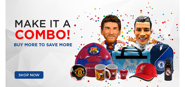 Combo Deals, Combo Offers, Football Club Combo Sets Online Shopping