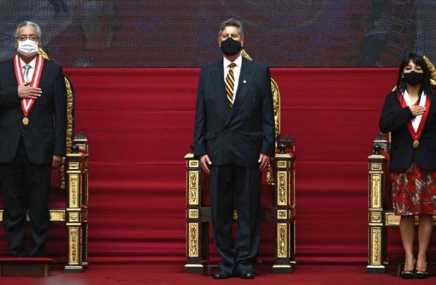 Presidente Sagasti: asunción de Elvia Barrios es un hecho histórico para el país ANDINA/Vidal Tarqui