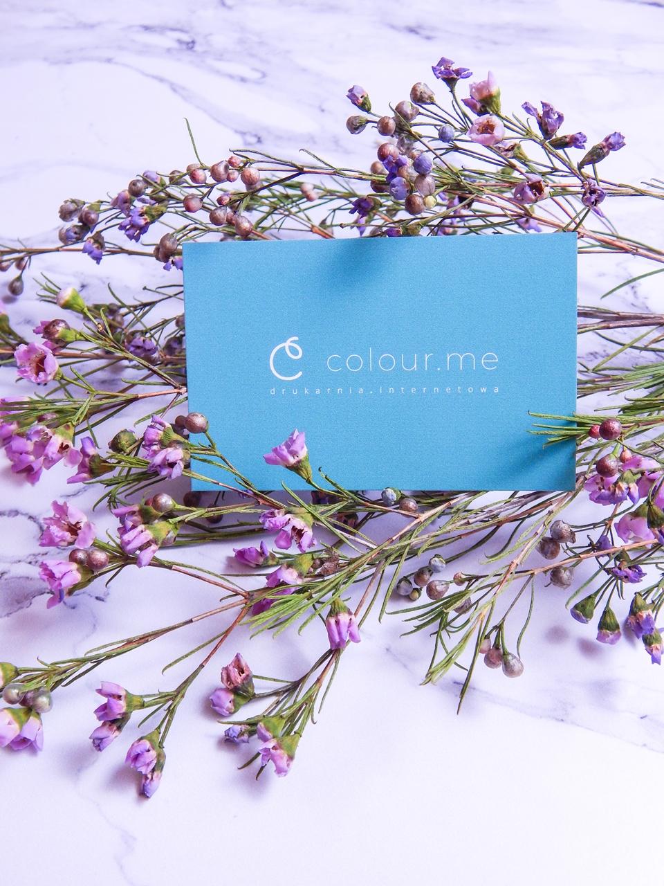 7 colour.me colourme colour me wizytówki druk wizytówek notesów kompleksowa obsługa firm gdzie wydrukować wizytówki zaproszenia kartki świąteczne melodylaniella recenzja