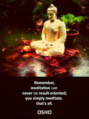 Meditation Oriented Quotes