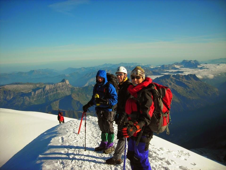 Descenso-de-la-cima-del-Mont-Blanc