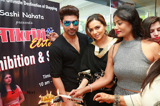 Bollywood Actress Sana Khan Launches Aakrithi Exibition  0430.JPG