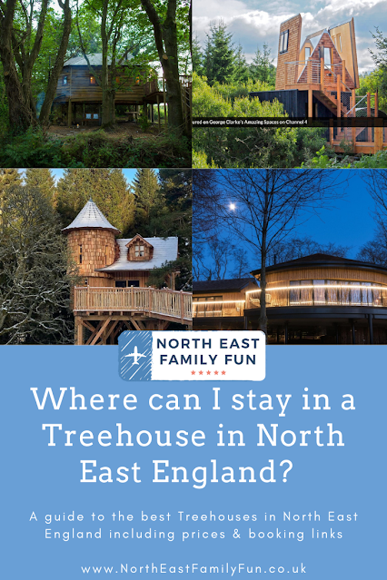 Where can I stay in a Treehouse in North East England?