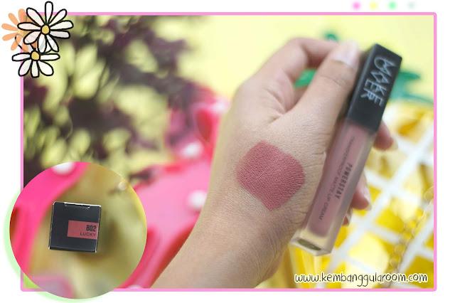 make over powerstay transferproof matte lip cream