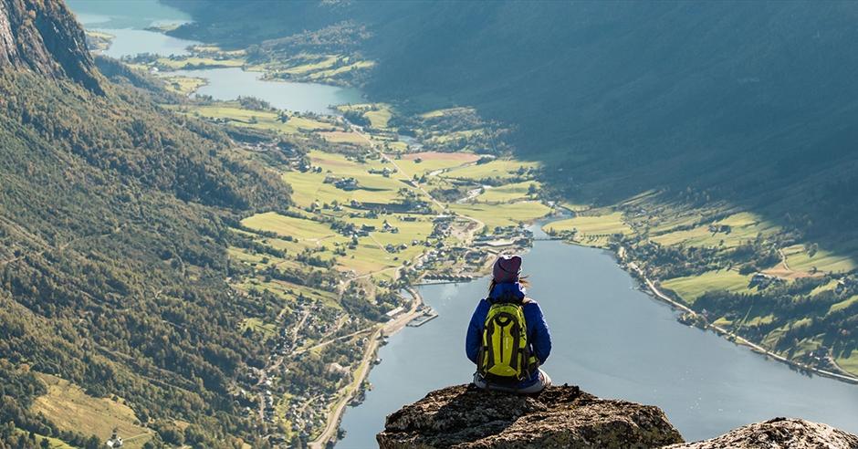 Гора Хиортфьеллет в Норвегии