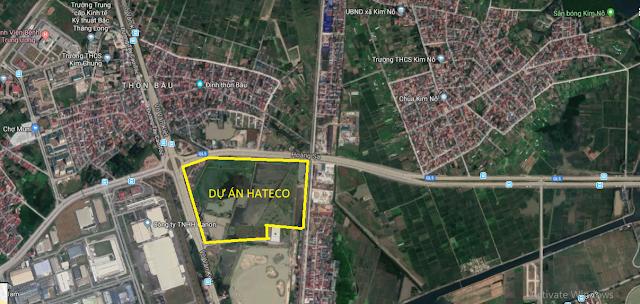 Hateco Đông Anh dự án chung cư biệt thự liền kề shophouse