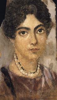 ritratto femminile da el fayyum