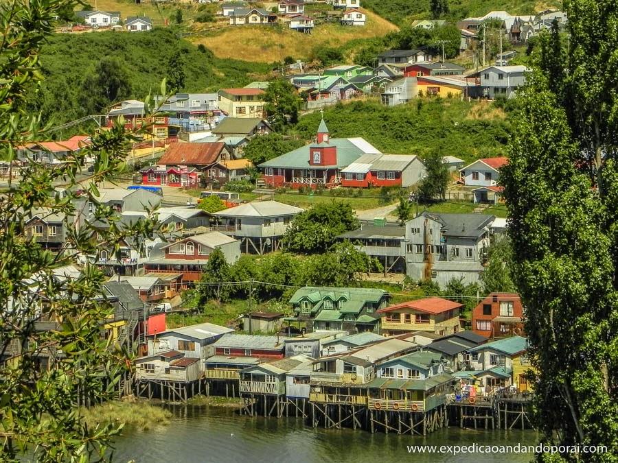 Palafitas em Castro, Ilha de Chiloé
