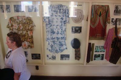 Roupas de Jorge Amado expostas em sua casa-museu em Ilhéus - BA