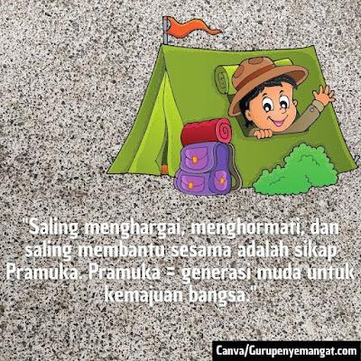 Gambar Ucapan Selamat Hari Pramuka Indonesia (5)