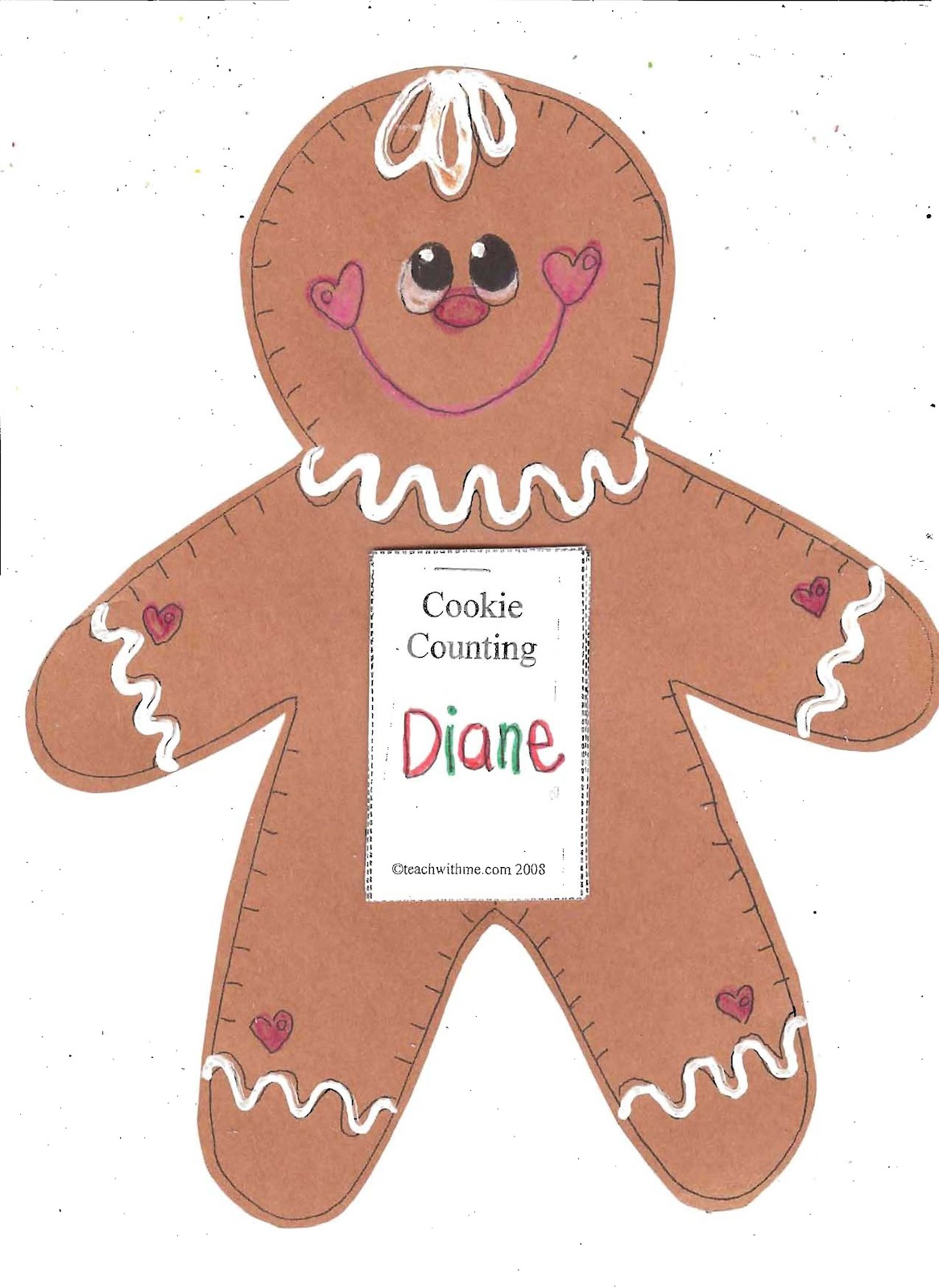 Gingerbread Man Art Activity 64