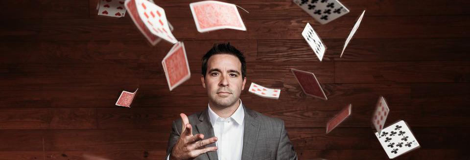 Magician Matt Wilson Birmingham, Alabama - Close-up Magic, Card Magic Tricks, Comedy Magic, Stage Magic
