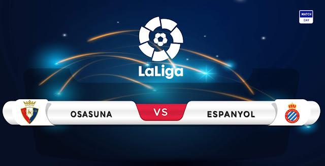 Osasuna vs Espanyol Prediction & Match Preview