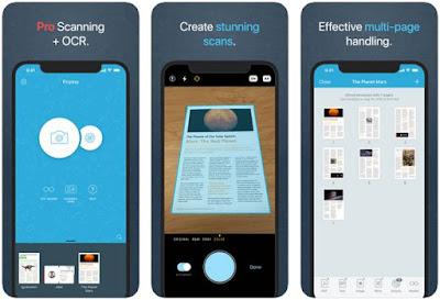Aplikasi Scanner iPhone Gratis - Prizmo