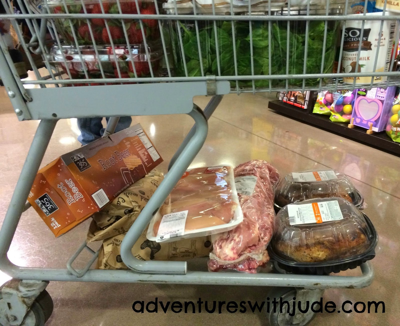 Keep meat seperate in shopping cart