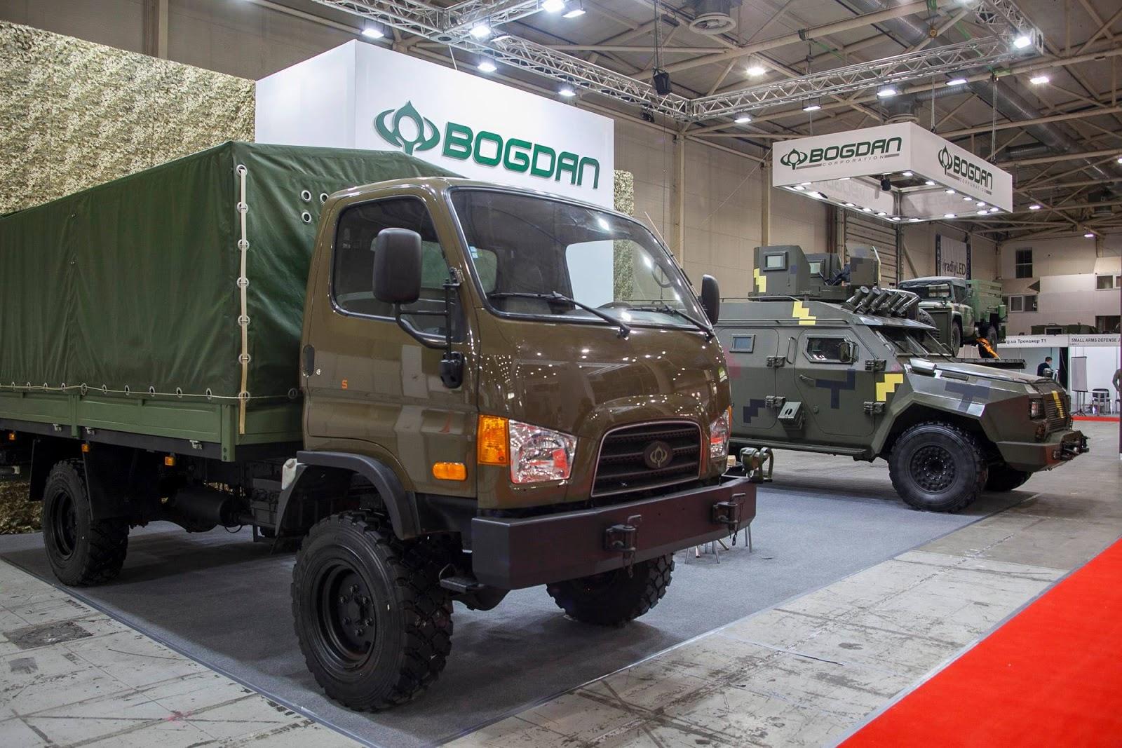 Продукція «Богдан Моторс» на Зброя та безпека 2019 (ФОТО)