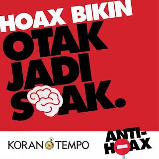 Hoax Bikin Otak Jadi Soak (twitter.com)
