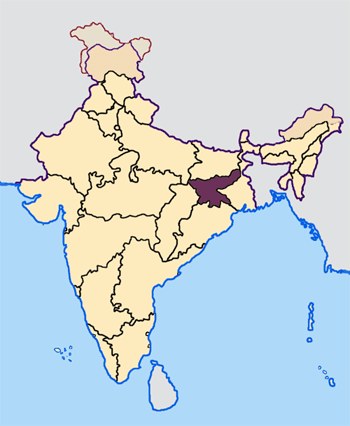 Neighbouring States of Jharkhand