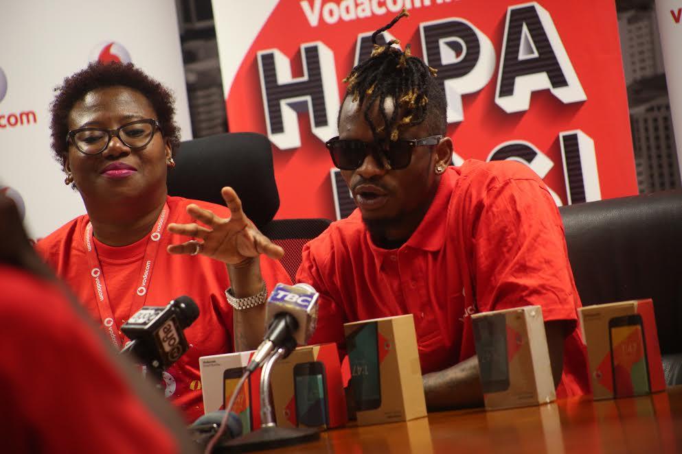 WCB Wasafi na Vodacom Tanzania Nogesha Upendo
