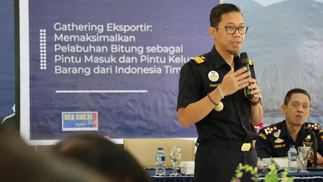 Pelabuhan Bitung jadi International Hub Port  Bea Cukai Bitung undang Ekportir