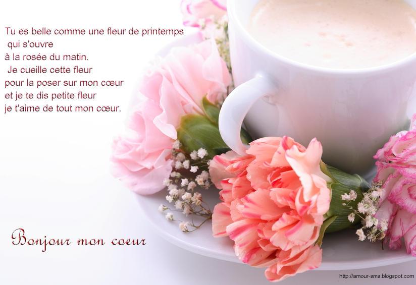Sms d 39 amour bonjour mon coeur mot d 39 amour phrase d 39 amour - Photo de coeur d amour ...