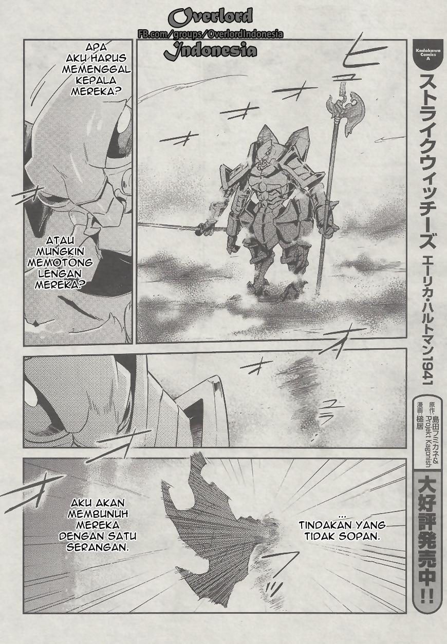 Baca Manga Overlord chapter 26 Bahasa Indonesia