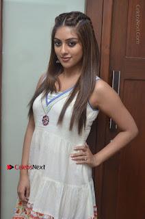 Telugu Actress Anu Emmanuel New Stills in Beautiful White Long Dress  0020.JPG