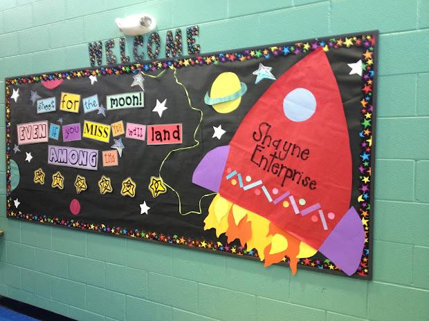 Outer Space Classroom Bulletin Board Ideas
