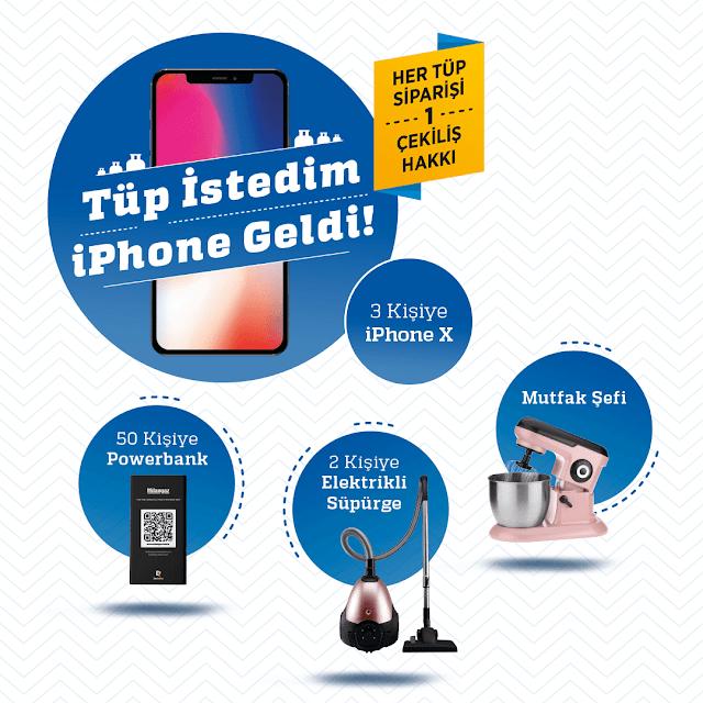 Milangaz ve McVitie's iPhone Kazandırıyor