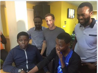 Image result for Zuckerberg arrived Nigeria