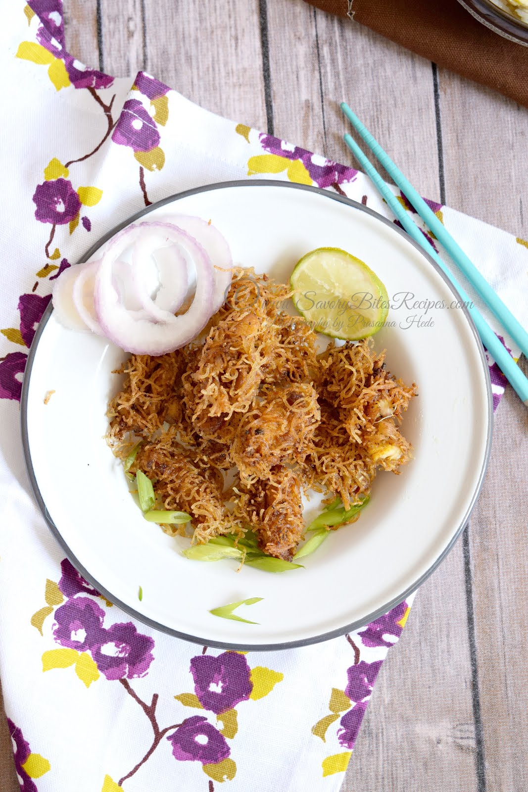Crispy chicken Indo-Chinese Starter Indian Appetizer
