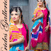New Embroidery-Printed Cotton Punjabi Shalwar Kameez Suits Design 2015 for Girls-Women