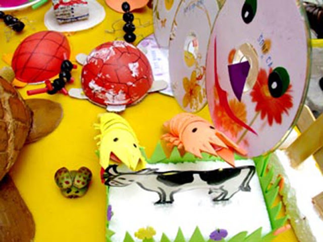 Đồ chơi sáng tạo cho trẻ mầm non
