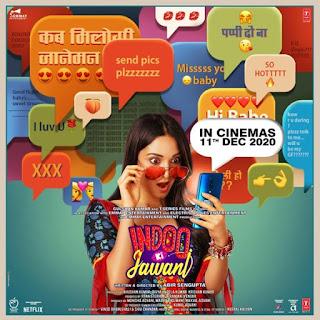 Indoo Ki Jawani First Look Poster