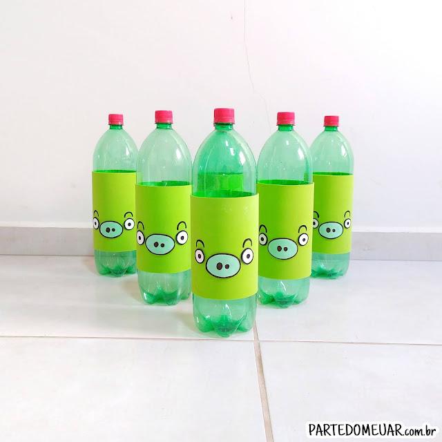ideias com garrafa pet