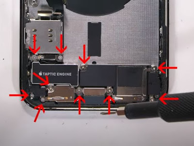 how to change iPhone 12 Pro Mic and Earphone