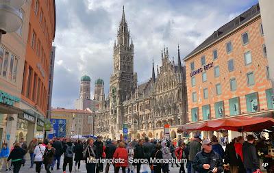 Marienplatz-Serce Monachium