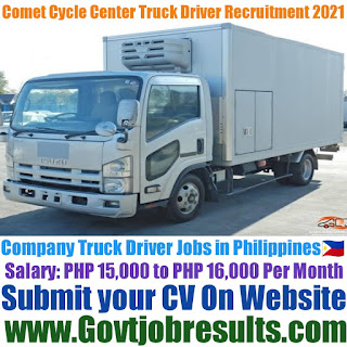 Comet Cycle Center Company Truck Driver Recruitment 2021-22