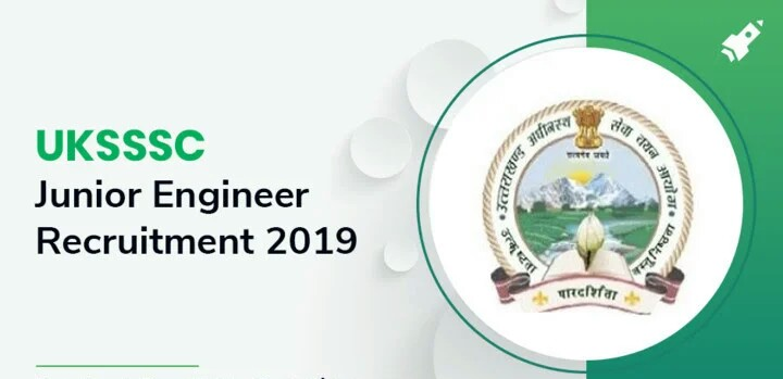 UKSSSC Junior Engineer Online Form 2019