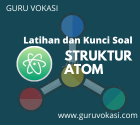 contoh soal struktur atom
