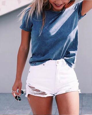 outfit de verano con shorts