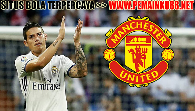 Real Madrid Tawarkan James Rodriguez Ke Manchester United