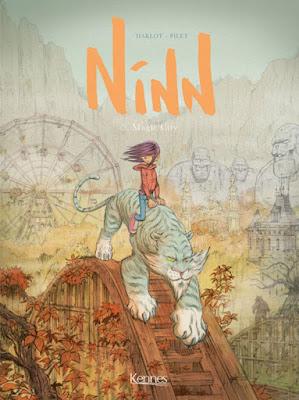 couverture de la BD jeunesse Ninn tome 5 - Magic circus