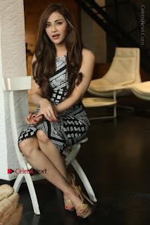 Telugu Actress Angela Krislinzki Latest Pos in Short Dress  0166.JPG