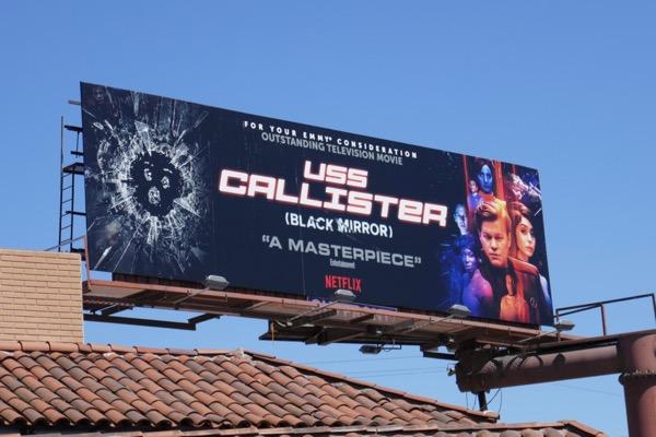 USS Callister Emmy FYC billboard