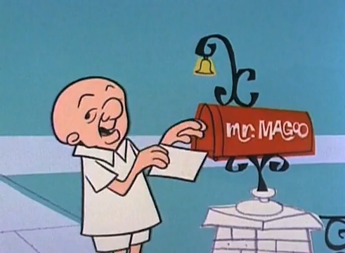 Mr. Magoo Jim Backus animatedfilmreviews.filminspector.com